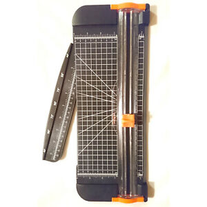 MASSICOT CUTTER GRAND FORMAT A3 A4 30cm COUPE PAPIER 15x38cm (5567) +2 LAMES (N)