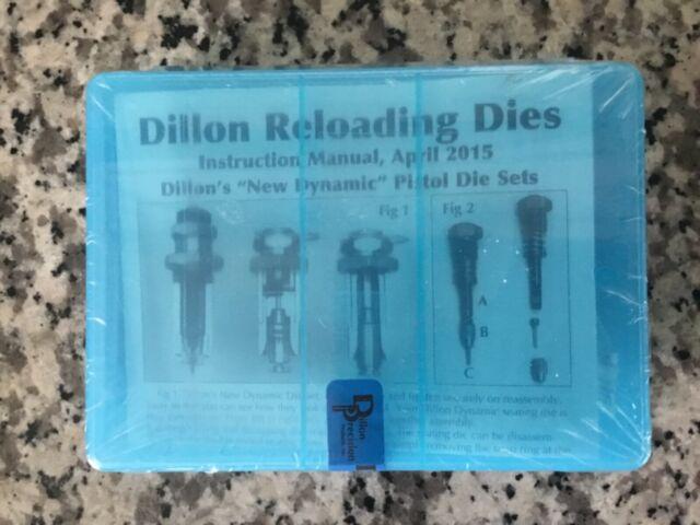 # 14400 Dillon 38//357 Carbide 3 Die Set NEW