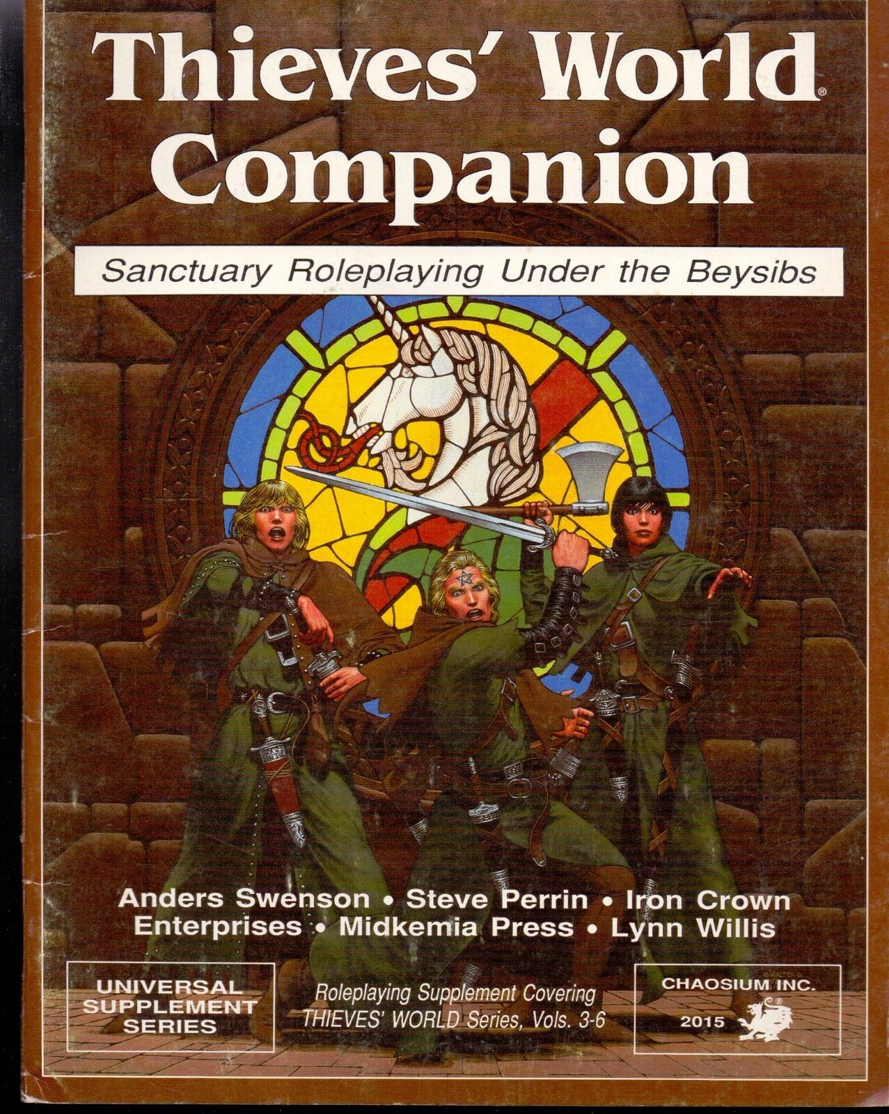 JDR  JEU DE ROLE     THIEVES' WORLD COMPANION AVEC CARTE 465176