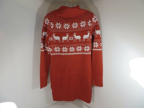Sweater Neck Elves Størrelse Reindeer 812153020503 Turtle Dress Tipsy Long Small OSRqXBwx