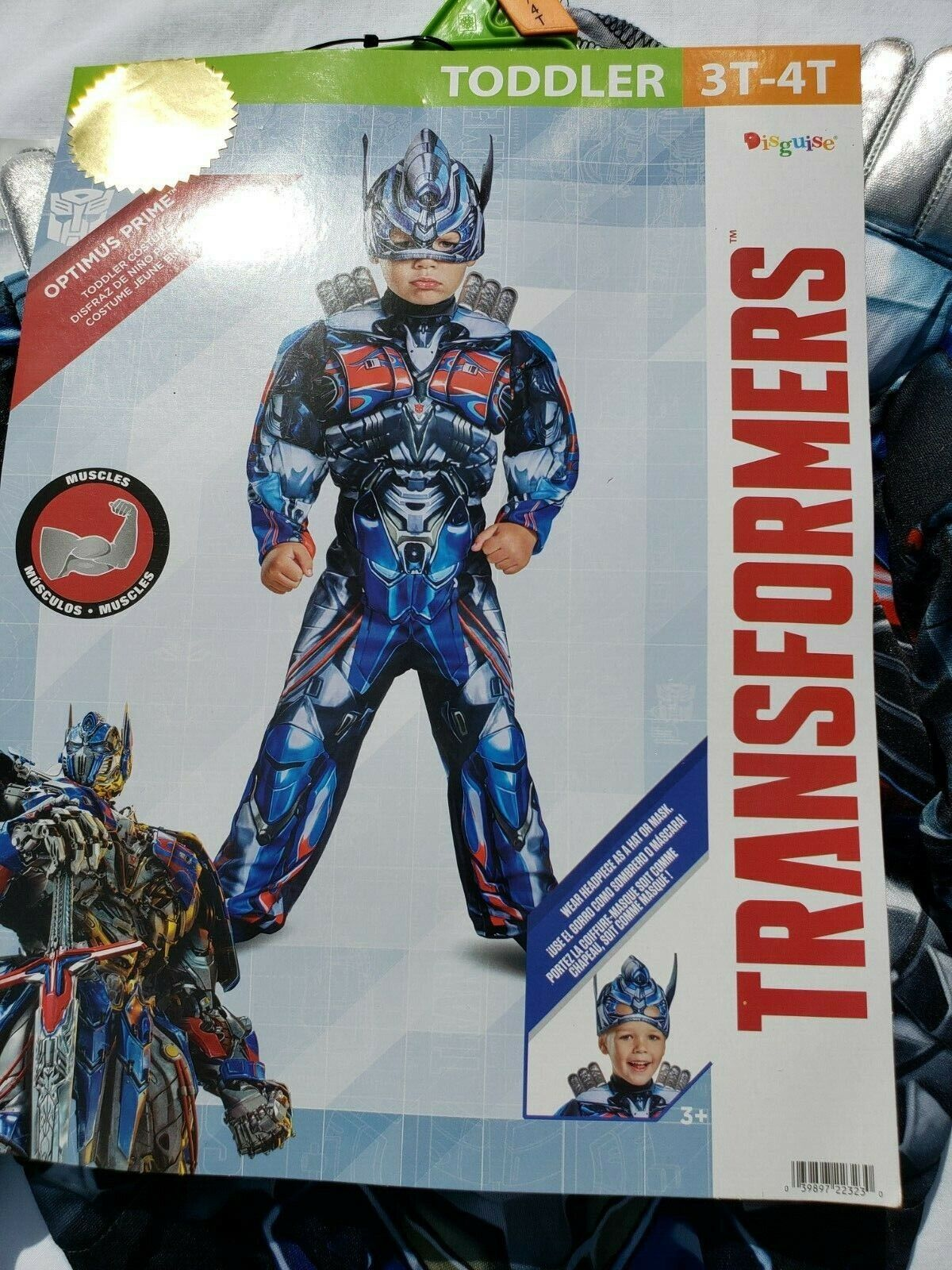 Optimus Prime Transformer Muscle Toddler Infant Costume Disguise 22323