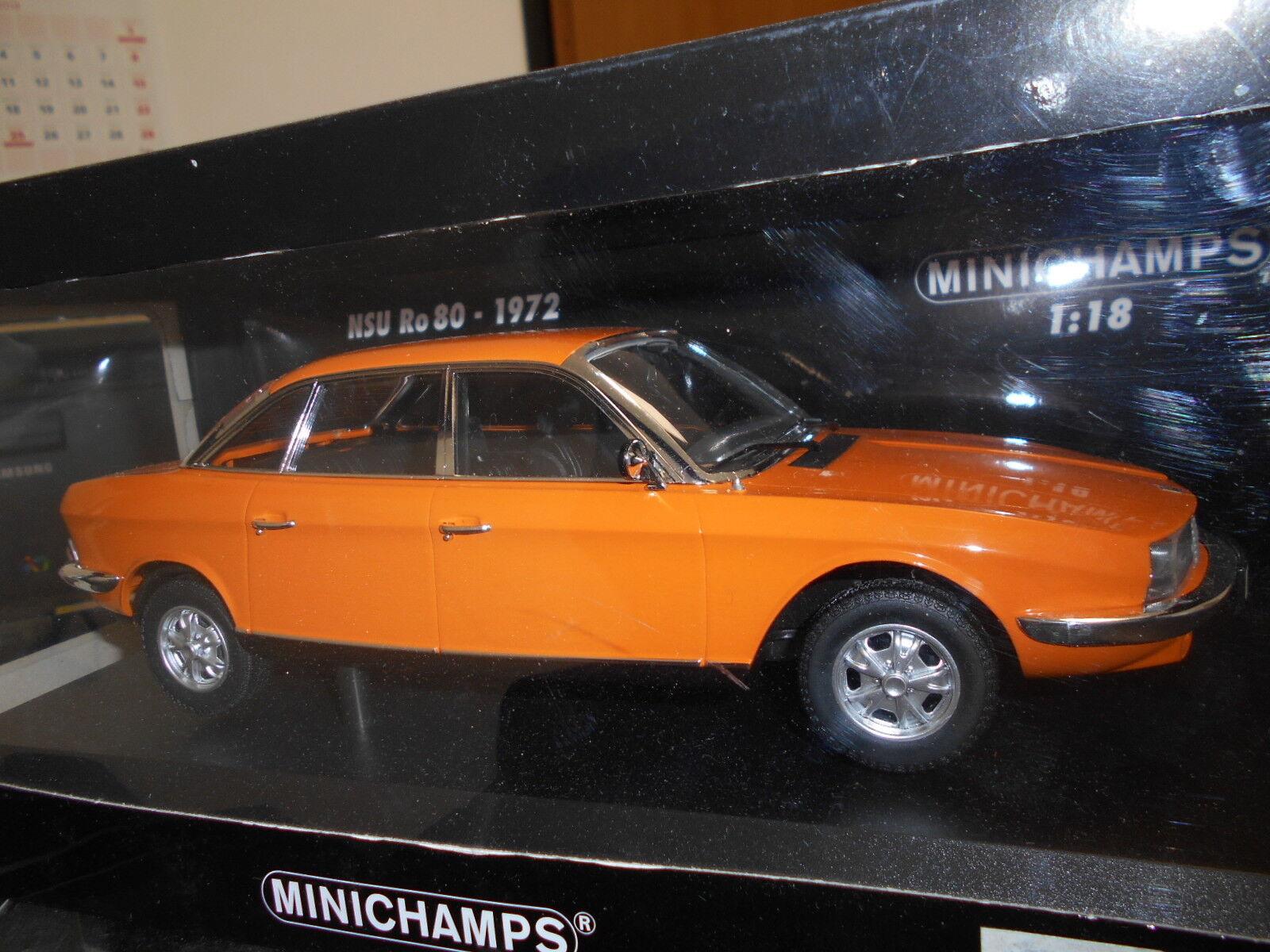 MIN151015401 by MINICHAMPS NSU RO 80 1972 1:18