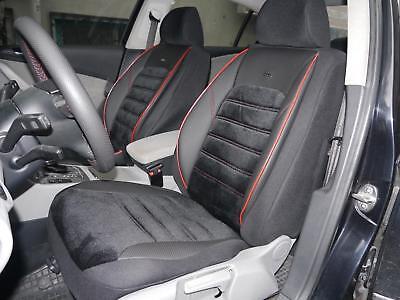 Chrysler Jeep Compass Universal Sitzaufleger Milano grau Seitenairbag geeignet