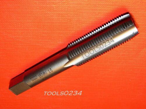 Irwin 1755 ZR M16 X 1.5 Metric 16MM Carbon Steel Plug Tap 4FL USA Made 1.50 RH