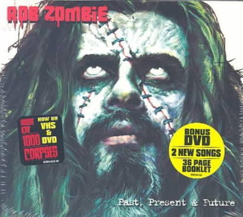 Rob Zombie - Past, Present & Future Album (2003, CDr