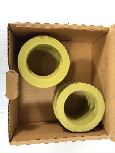"Box of 10 William Harvey Urinal Gasket 2VRN6 Sponge Rubber 3/"" x 2-1//8/"" x 3//8/"""