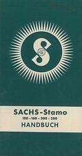 1956 SACHS-STAMO 100-160-200-280 BETRIEBSANLEITUNG OWNER'S MANUAL DEUTSCH