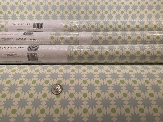 Wallpaper Lot Beige Cream 4 Double Rolls Southwestern Fabric Backed Vinyl