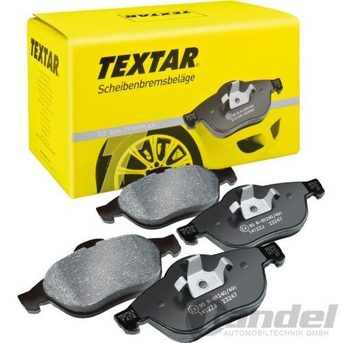 Textar plaquettes de freins devant toyota camry 2.2 3.0 v6 24v previa 2.0 d-4d 2.4