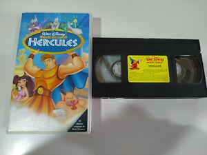 HERCULES-LOS-CLASICOS-Walt-Disney-VHS-Cinta-Tape-Espanol