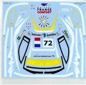 Studio27 1/24 C6-r #70 Lm 2007 (rechange Sticker) Sdcc2405 Sticker Nouveau De