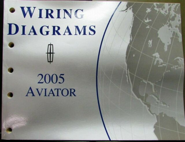2005 Lincoln Electrical Wiring Diagram Service Manual