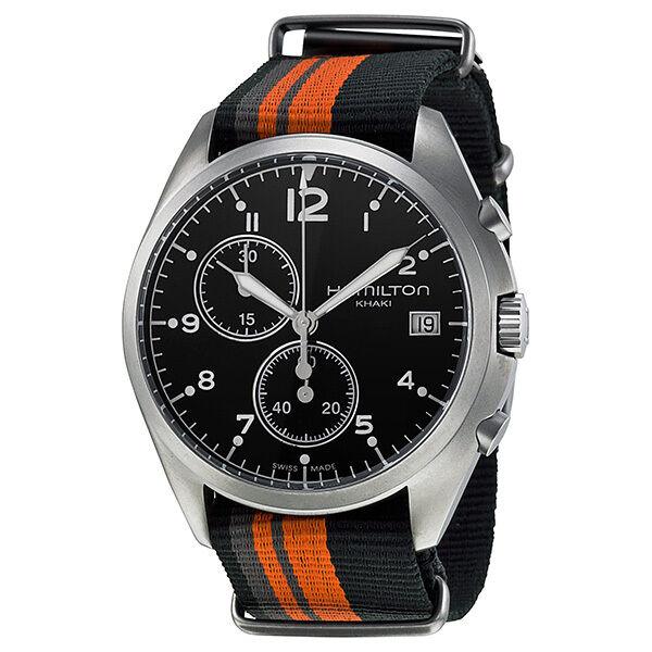 Hamilton Khaki Pioneer Pilot Black Dial Men Watch H76552933