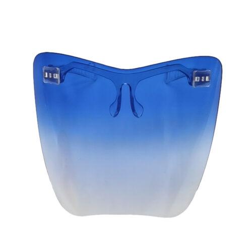Face Shield Protective Facial Cover Transparent Glasses Visor Anti-Fog Adult —US