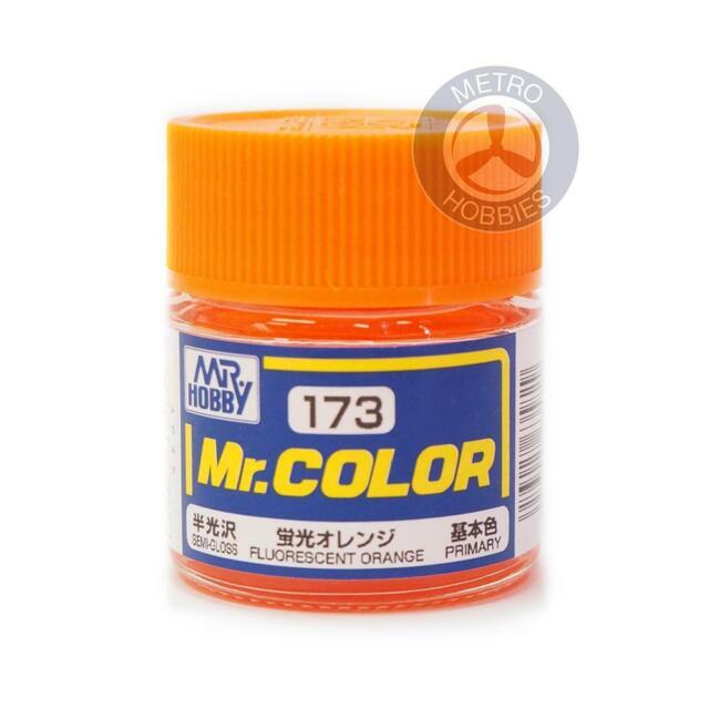 Gunze C173 Mr Colour Gloss Fluorescent Orange Brand New
