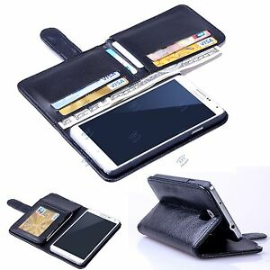 info for 093d2 1340c Details about New 7 Cards Holder Flip Wallet Leather Case Cover For Samsung  Galaxy Note 3