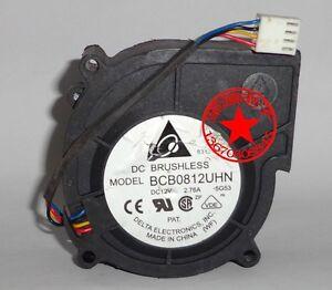 Delta BCB0812UHN fan 12V 2.76A 80*30mm 4pin #M3051 QL