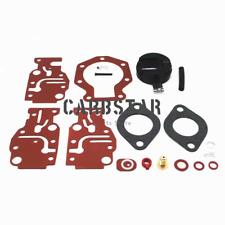 BE10REDD E10RELEDD Carburetor Repair Kit for 1996 OMC Johnson 9.9HP BJ10ELEDD