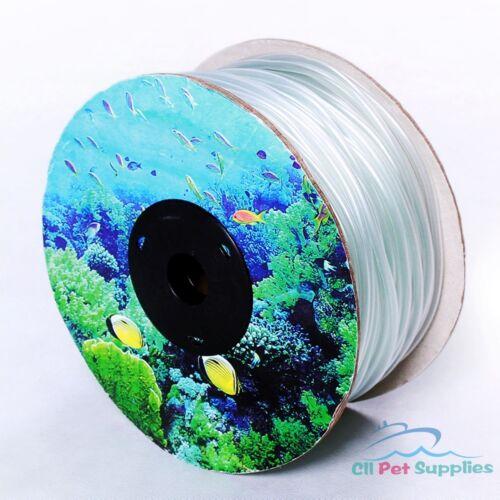 300/' Aquarium Silicone Air Line Tubing for Fish Tank Air Pump PREMIUM QUALITY