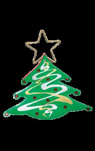 Christmas Tree Bag Xmas Fancy Dress Costume Accessory