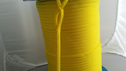 Hollow Braid Rope 8mm or 10 mm Easy to Splice Different Lengths /& Colours