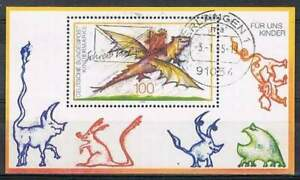 Duitsland-Bund-gestempeld-1994-used-block-30-Kindermarke-4