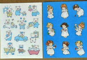 Vintage 1990 cute Pig Hallmark Stickers