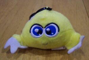 McDonald-039-s-Neopets-YELLOW-KIKO-CLIP-4-034-Stuffed-Animal