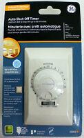 Ge Indoor In Wall 60 Minute Fan Light Auto Shut-off Single Pole Timer 15 Amp