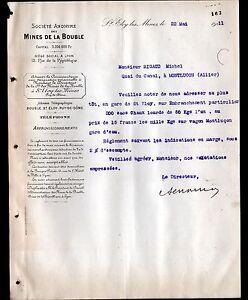 SAINT-ELOY-les-MINES-63-CHARBON-034-MINES-de-LA-BOUBLE-034-en-1911