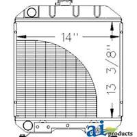 A-sba310100610 Ford Tractor Radiator 1120; 1215; 1220