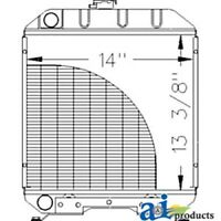 A-sba310100610 Ford Tractor Radiator 1120; 1215; 1220