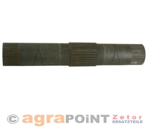 67118020 by agrapoint.de Zetor Welle NEU Hubwelle Kraftheber