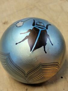 Orient And Flume 1977 Signed Beetle Paperweight