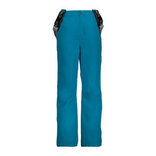 CMP Skihose Snowboardhose KID SALOPETTE blau wasserabweisend atmungsaktiv Twill