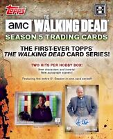 2016 Topps The Walking Dead Season 5 Trading Cards Hobby Box in Stock