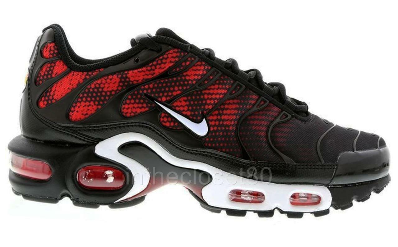 80 off nike air max plus txt tuned 1 tn black white challenge red