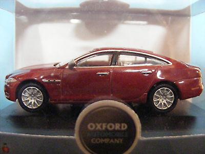 BNIB OO GAUGE OXFORD 1:76 76XJ003 JAGUAR XJ SALOON RED CAR