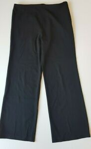 BLOOMS-Black-Wide-Legged-Pants-Size-14