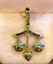 2007 JUICY COUTURE LIBRA CHARM  RARE YJRU1003