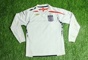 60f15d31589 Image is loading ENGLAND-NATIONAL-TEAM-2007-2009-FOOTBALL-SHIRT-JERSEY-