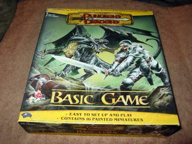 Wizards of the Coast - Dungeons & Dragons - Basic Game (Sealeded Contents) Sällsynt