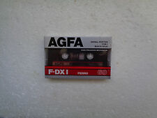Vintage Audio cassette AGFA F-DX I 60 * Rare From 1987 *