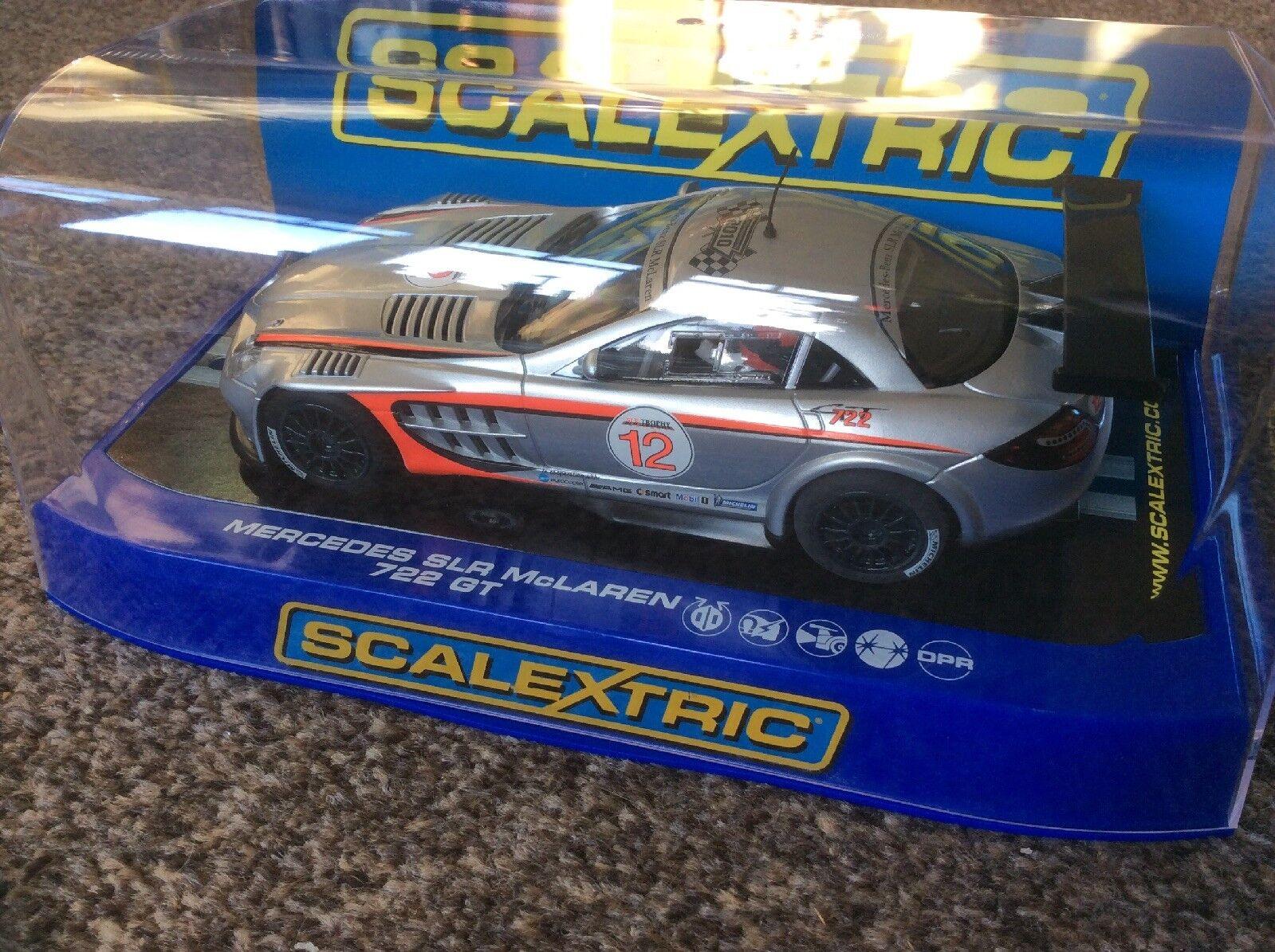 Scalextric C3118 Mercedes SLR McLaren 722GT Range Presentation Car No.130 of 200