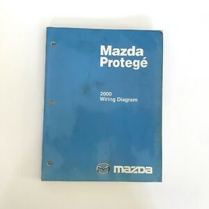 2000 Mazda Protege Factory OEM Wiring Diagram Workshop ...