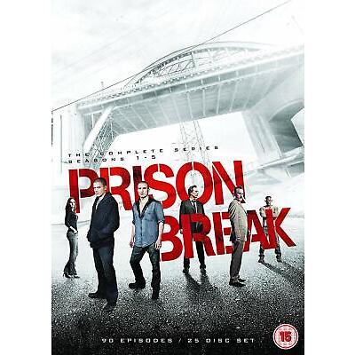 Prison Break: The Complete Series - Seasons 1-5 (DVD)
