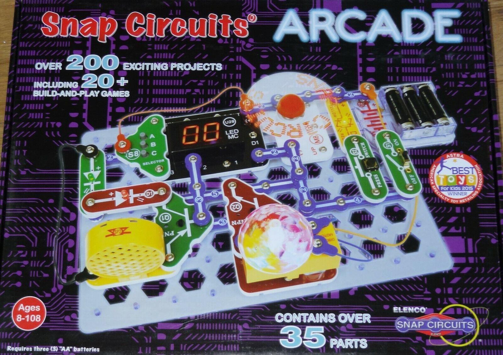 protección post-venta Snap Circuitos Arcade Electrónica Proyecto Aprendizaje Diverdeido experimentos lista SCA200 SCA200 SCA200  tienda en linea