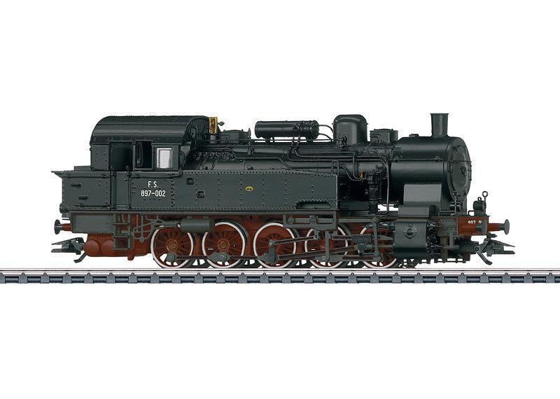 Märklin 37164 tren de carga-tenderlok grupo 897 FS-italia tiene ep3 ac digital con sonido