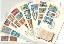 Greece. Greek 8 FDC's 7 Complete Sets Year: 1969, Greece & sea, Liberation.