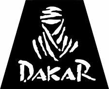 Motorsport Car Motorbike Exterior Vinyl Sticker Dakar Rally Decals x 2